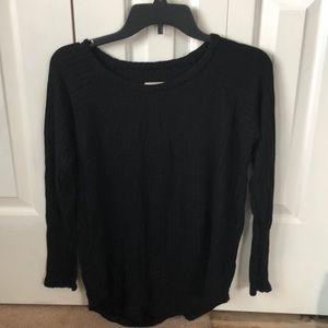 Chaser brand black long sleeve shirt